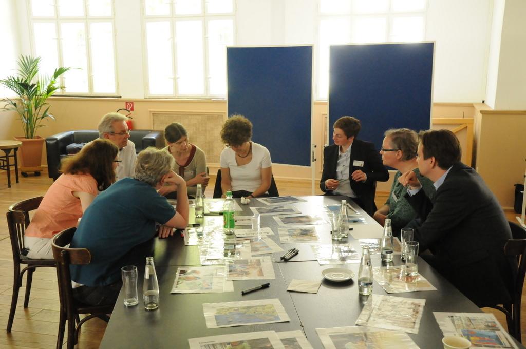 Science Workshop: Personas erstellen. Foto: Stephanie Pletsch