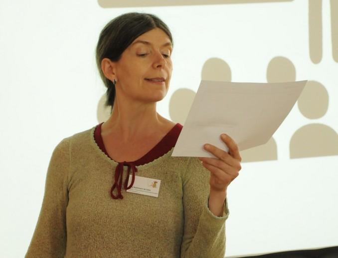 Science Workshop: Personas vorstellen. Foto: Stephanie Pletsch