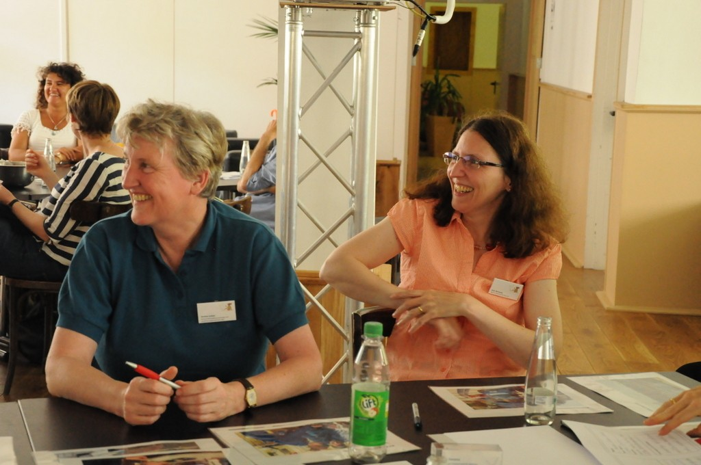 Science Workshop: Spaß beim Personas vorstellen. Foto: Stephanie Pletsch